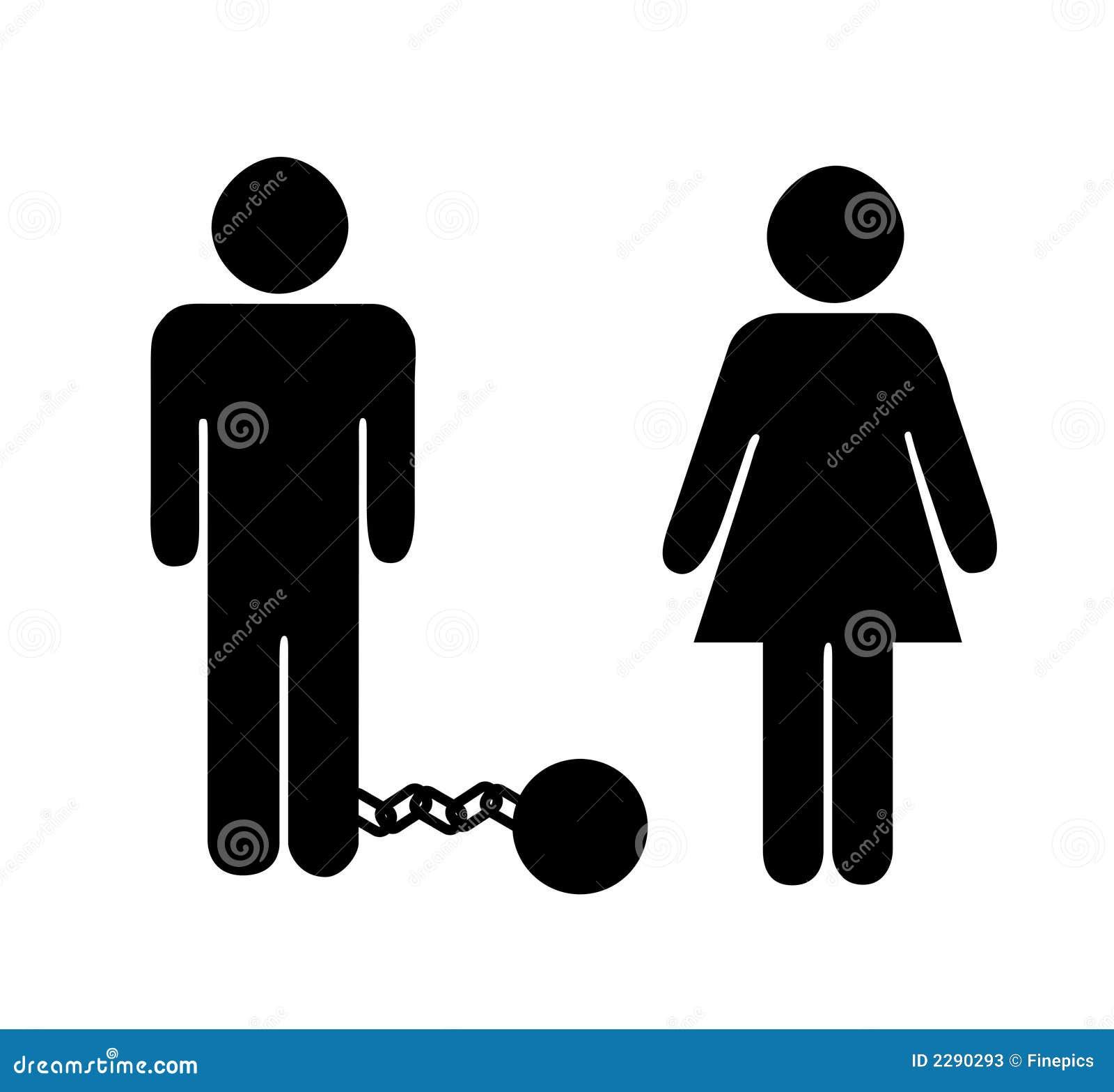 Człowiek nabiera na kobietę