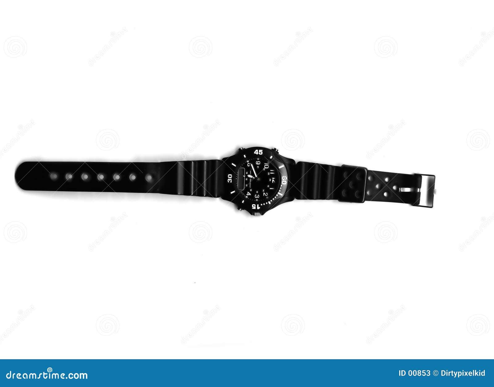 Człowiek sportowy zegarek