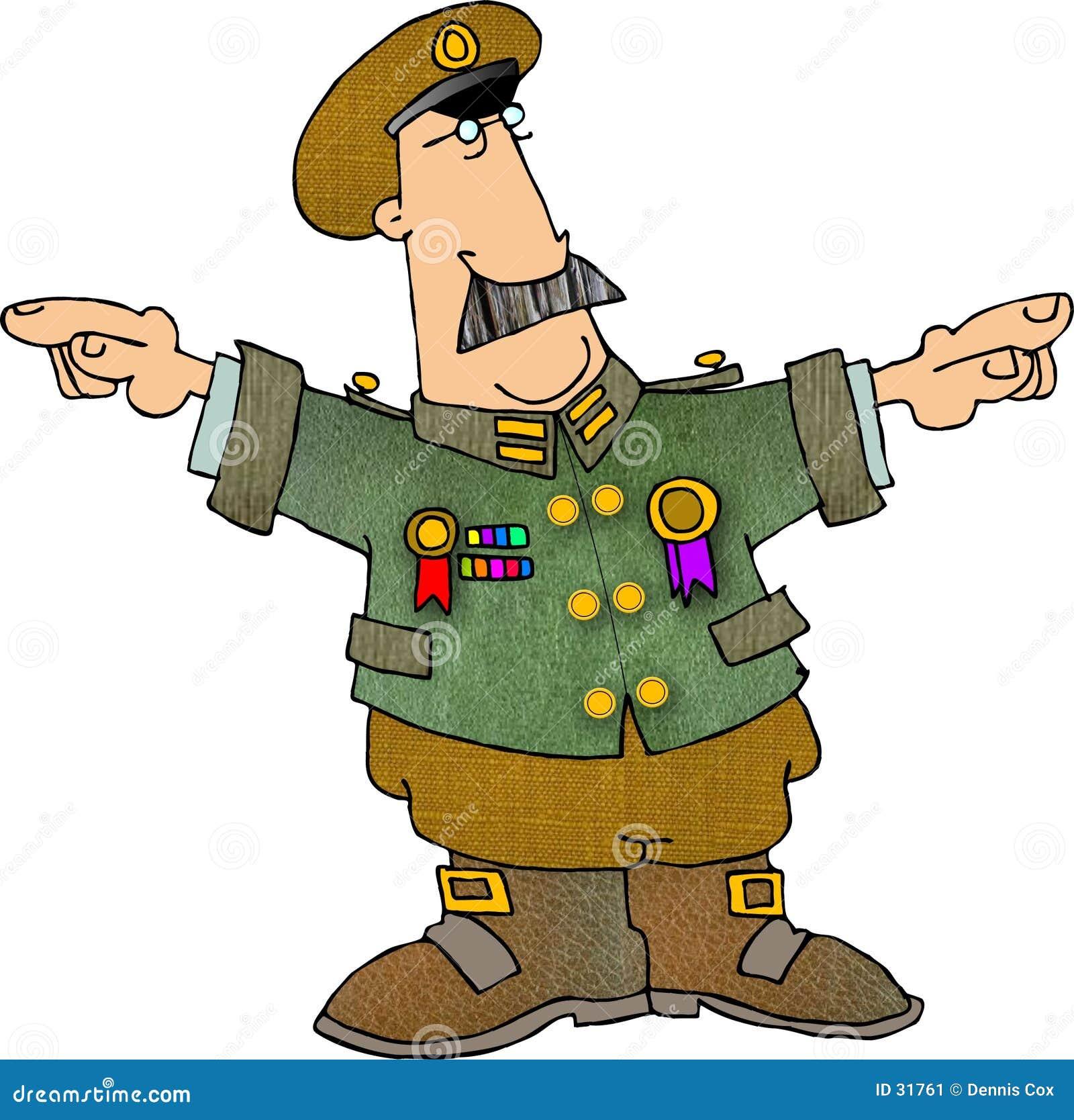 Człowiek wojsko