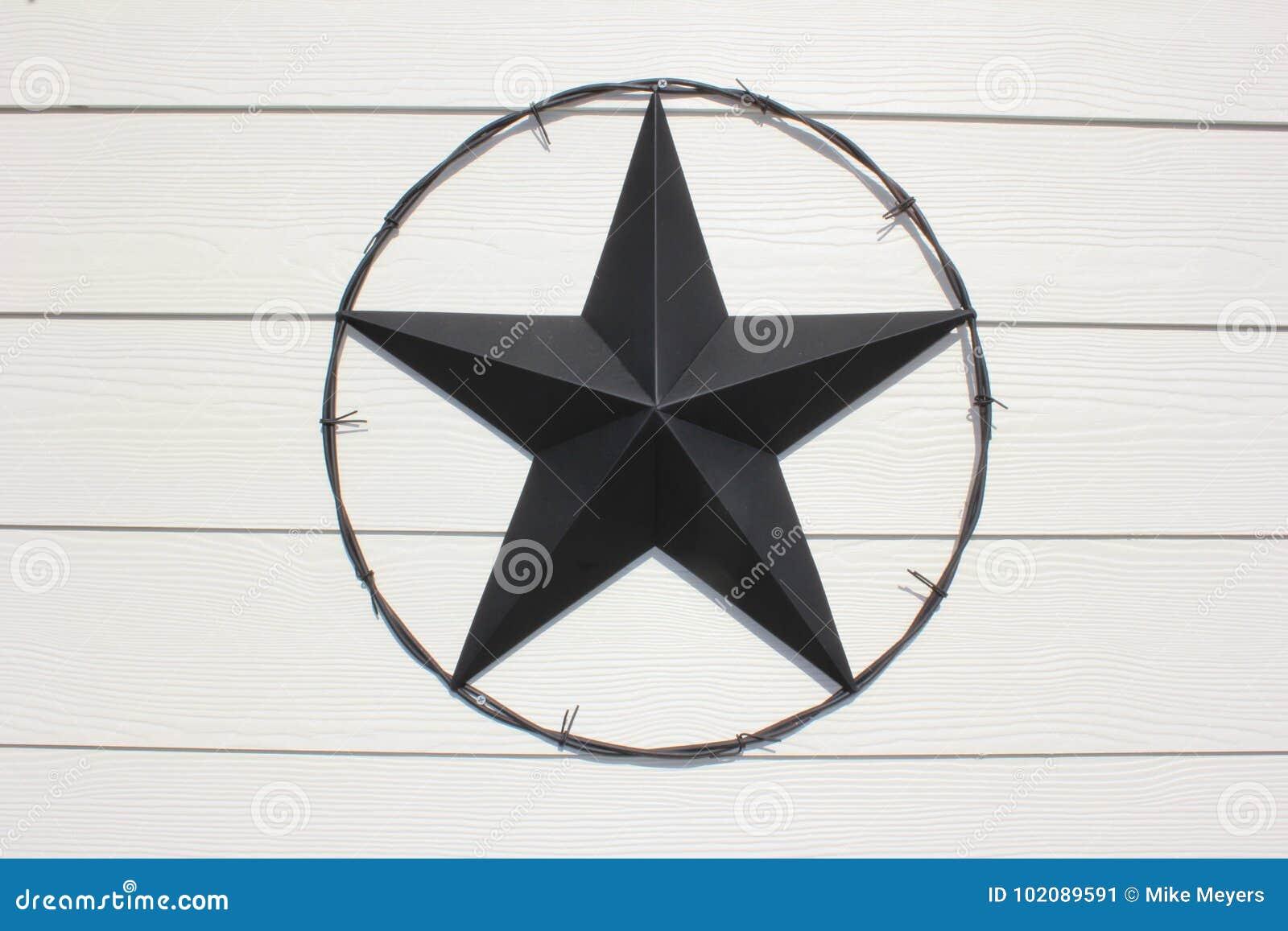 Czarna Teksas gwiazda