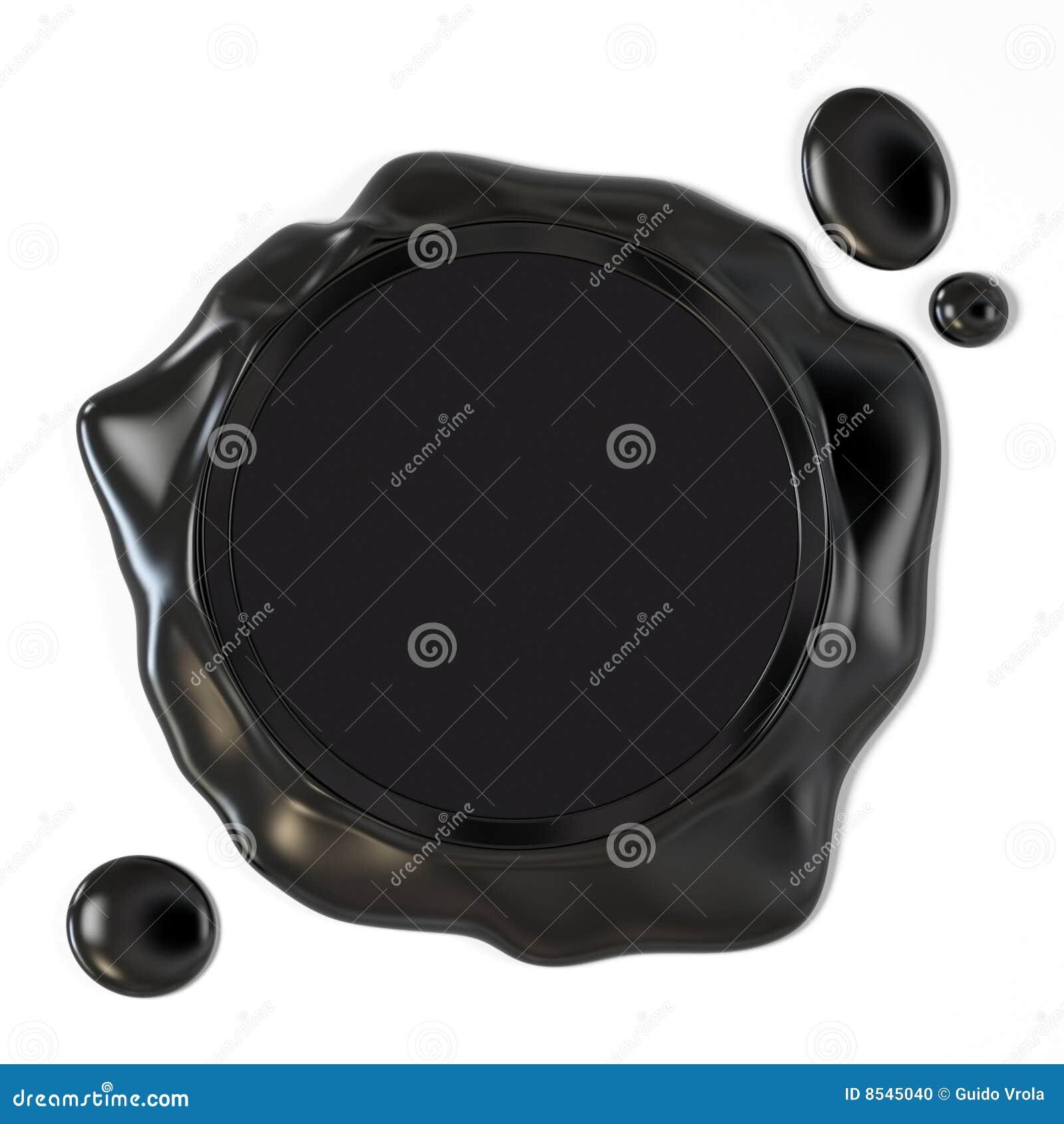 Czarna wosk foka