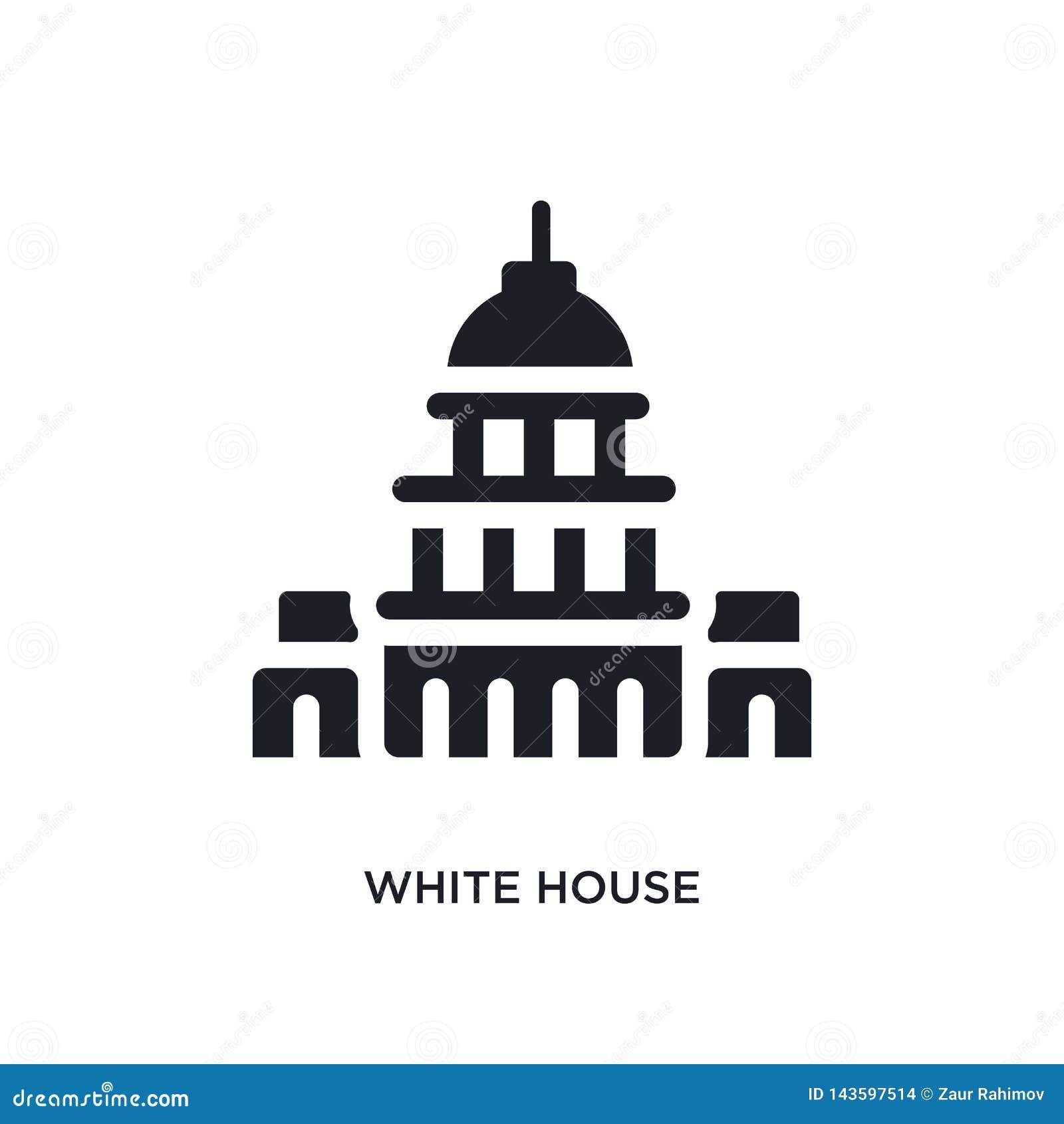 Czarnego bielu domu odosobniona wektorowa ikona prosta element ilustracja od zlanych stanu pojęcia wektoru ikon bielu domowy edit