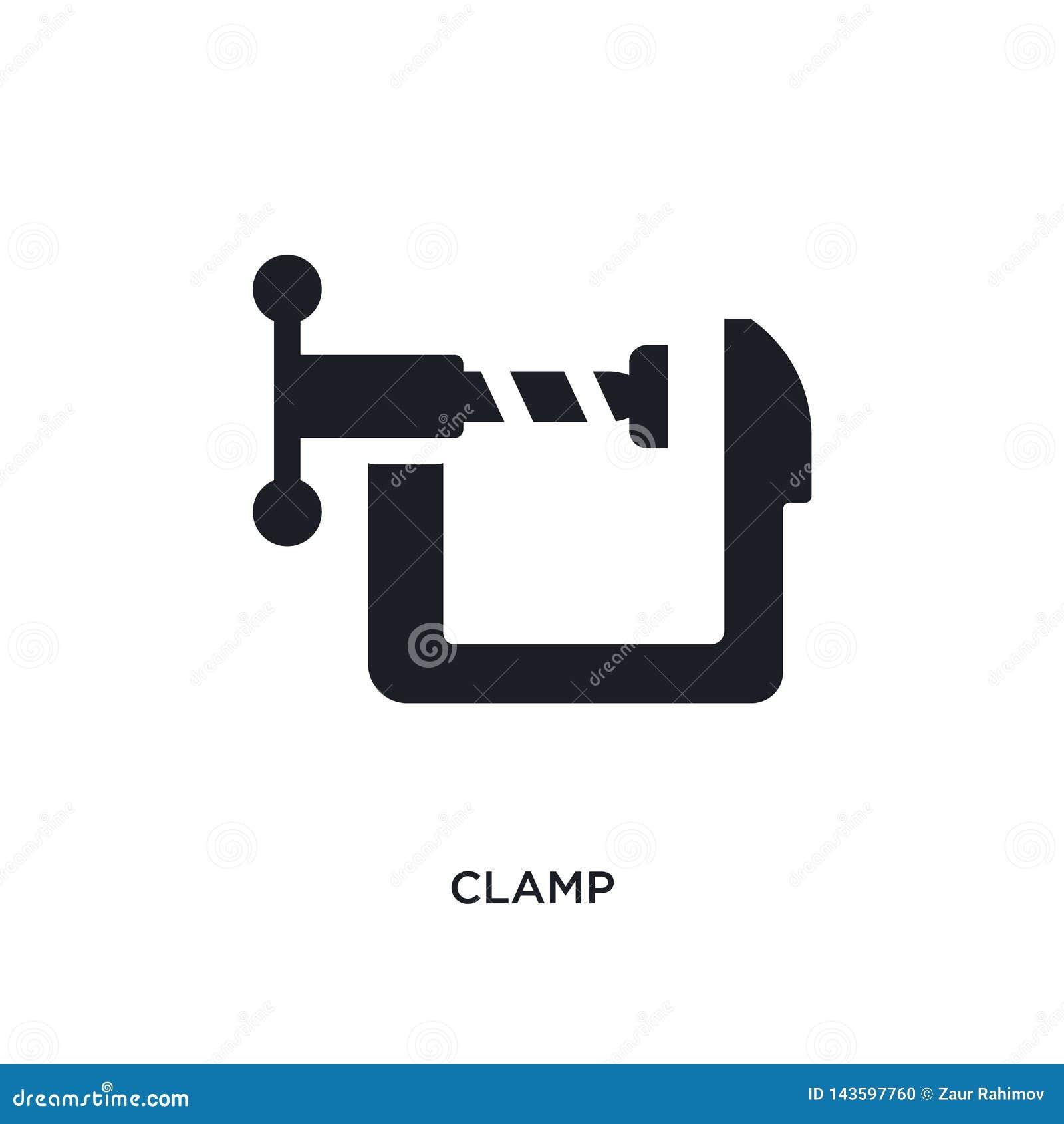 Czarnego kahata odosobniona wektorowa ikona prosta element ilustracja od przemys?u poj?cia wektoru ikon kahata logo editable symb