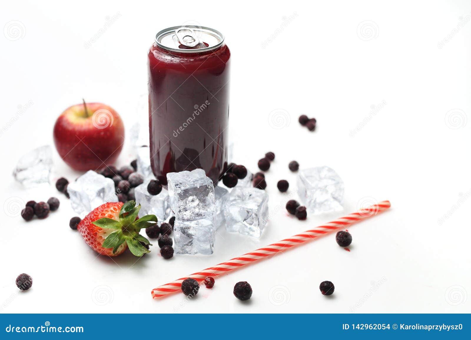 Czarnego rodzynku koktajl, odświeża zdrową sok dietę zimny napój