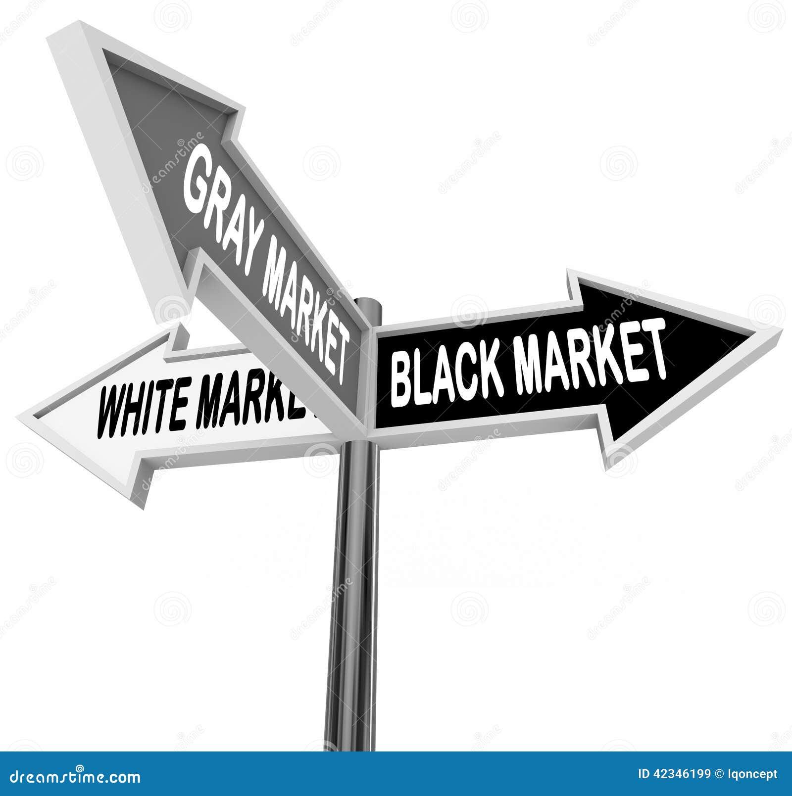 Czarnego Szarego bielu rynku znaków ulicznych Trzy sposobu Drogowa gospodarka