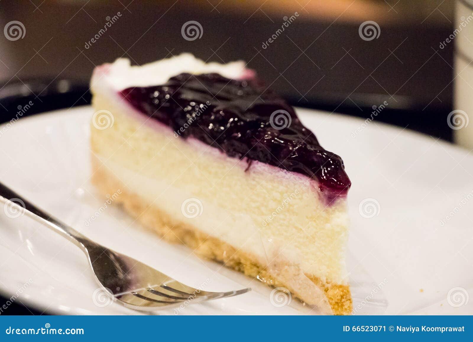 Czarnej jagody Cheesecake