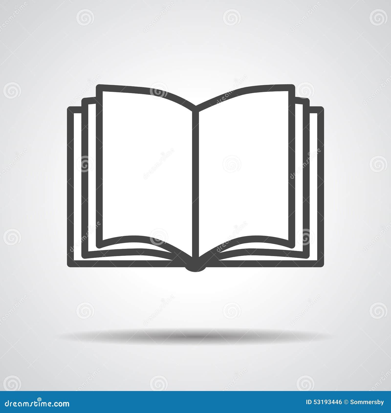 Czarnej książki ikona