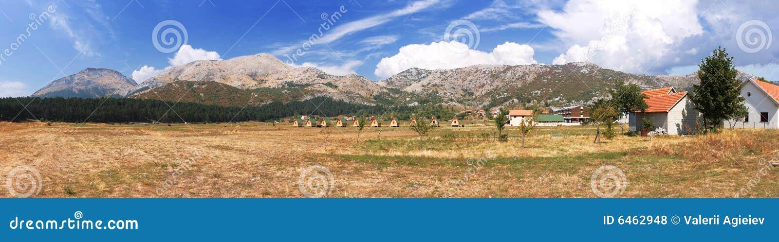 Czarnogóra balkans wioski