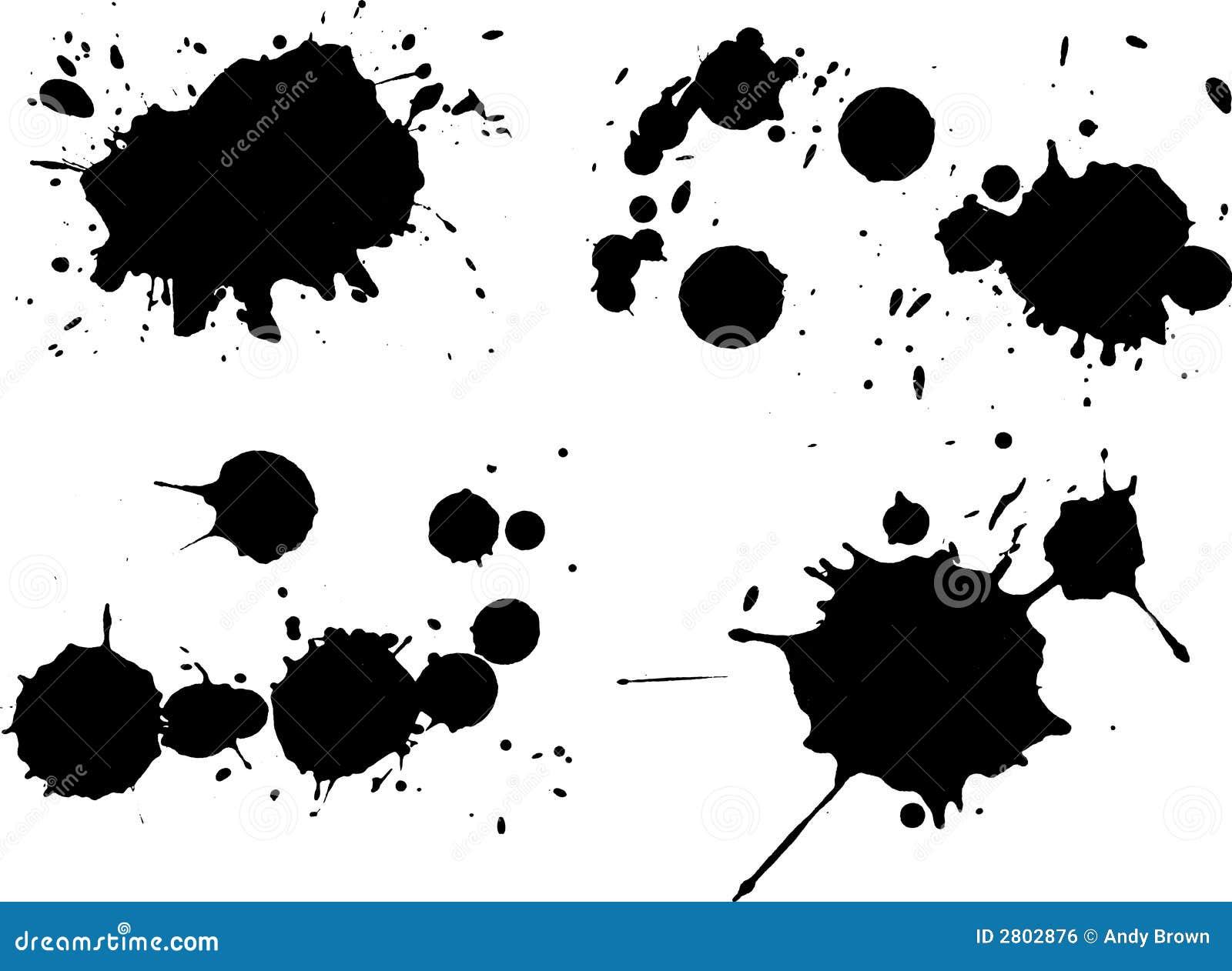 Czarny 4 splats