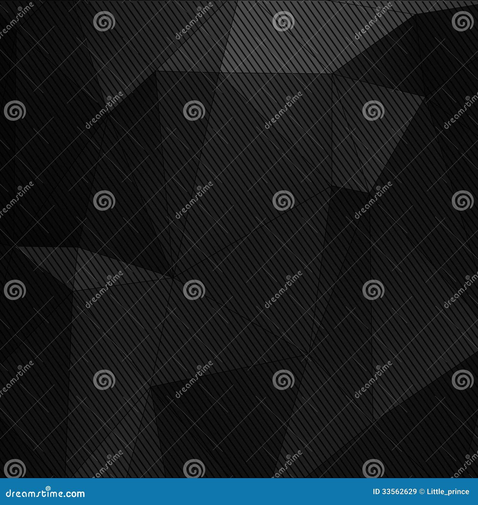 Czarny abstrakcjonistyczny technologii tło