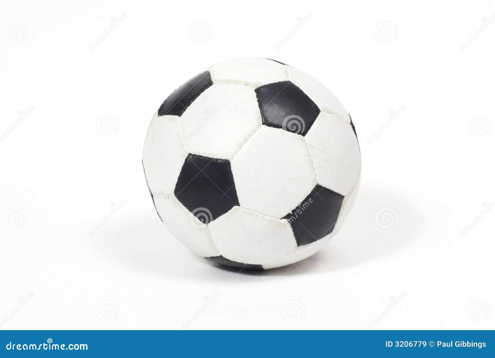 Czarny futbol white