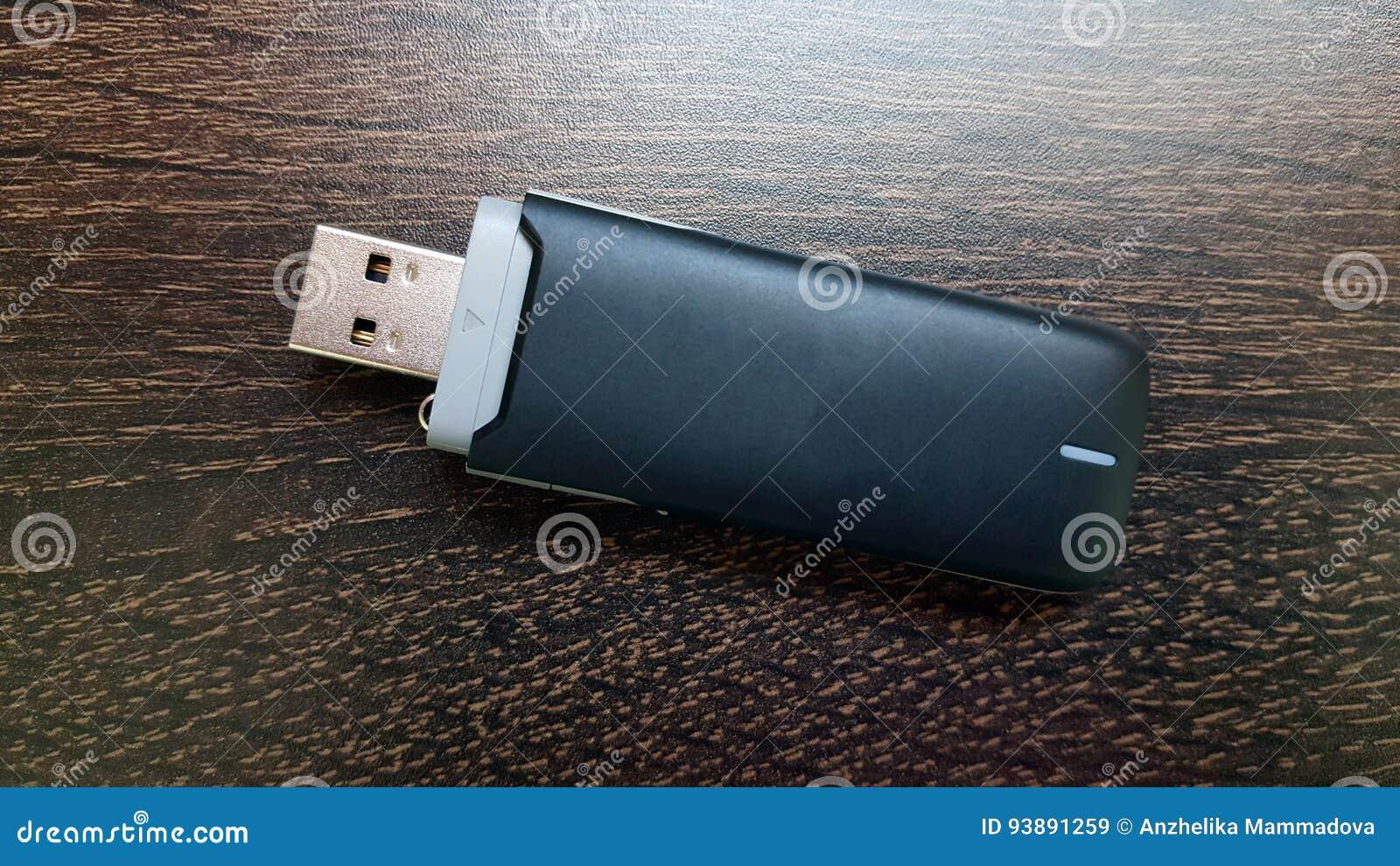 Czarny 3g usb bezprzewodowy mobilny modem