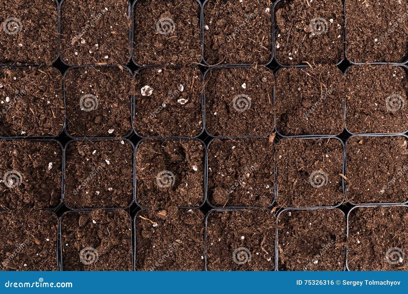Czarny glebowy tekstury tło