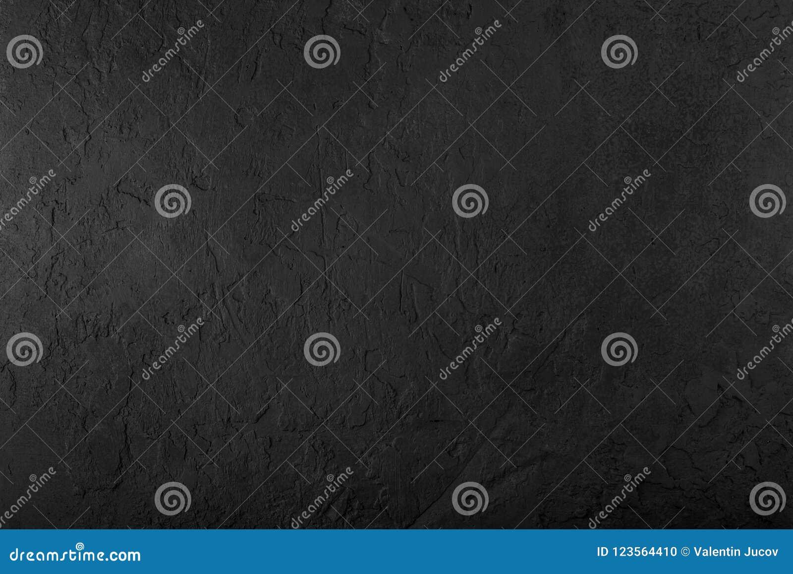 Czarny kamienny tło, siwieje cementową teksturę Odgórny widok, mieszkanie nieatutowy