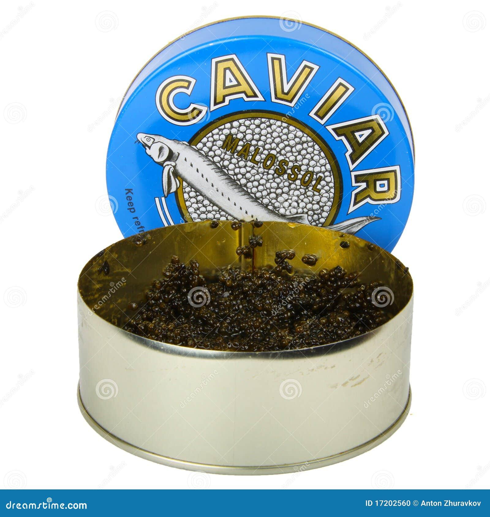 Czarny kawior