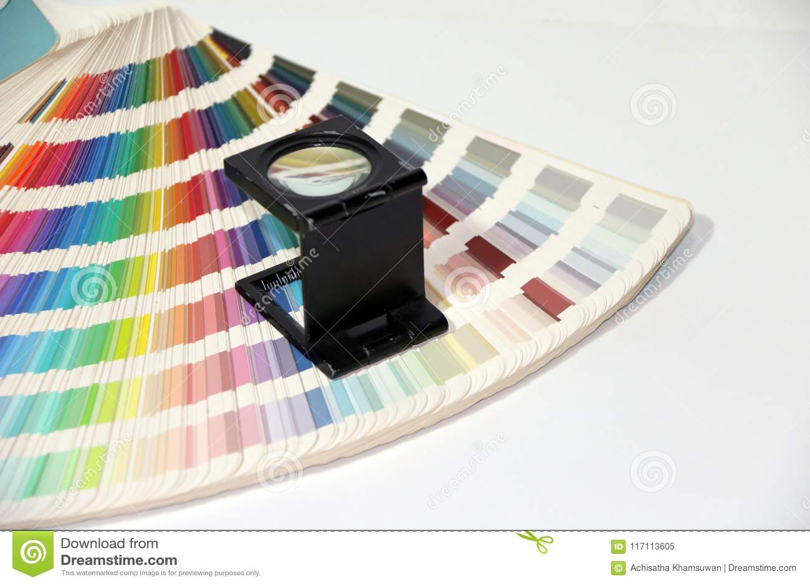 Czarny kwadrat Powiększa - szkło i tęcza Pobieramy próbki kolor palety katalog