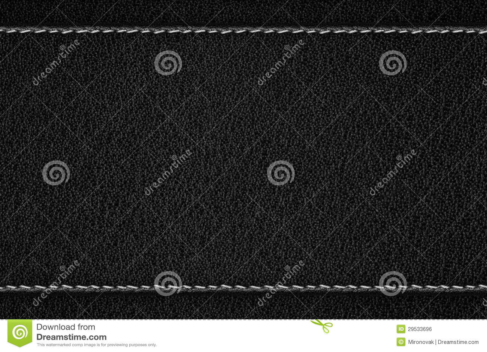 Czarny rzemienny tło