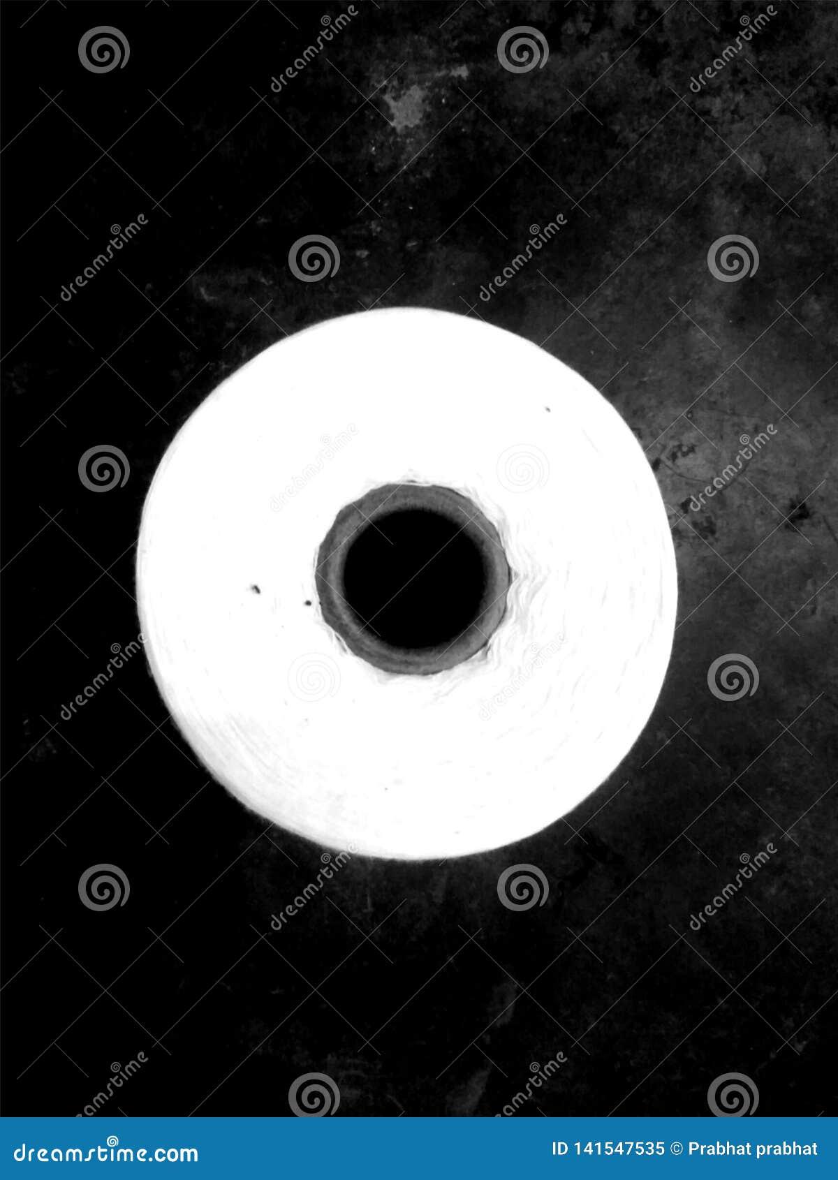 Czarny white wzoru