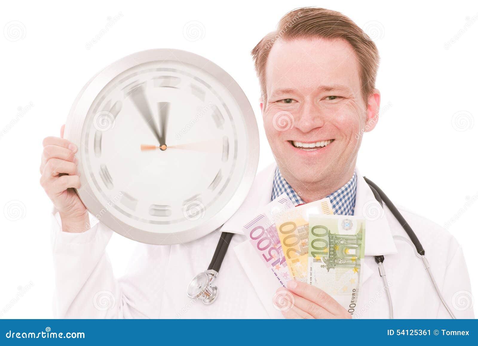 Czas dla medycznych savings (wiruje zegarek wręcza wersję)