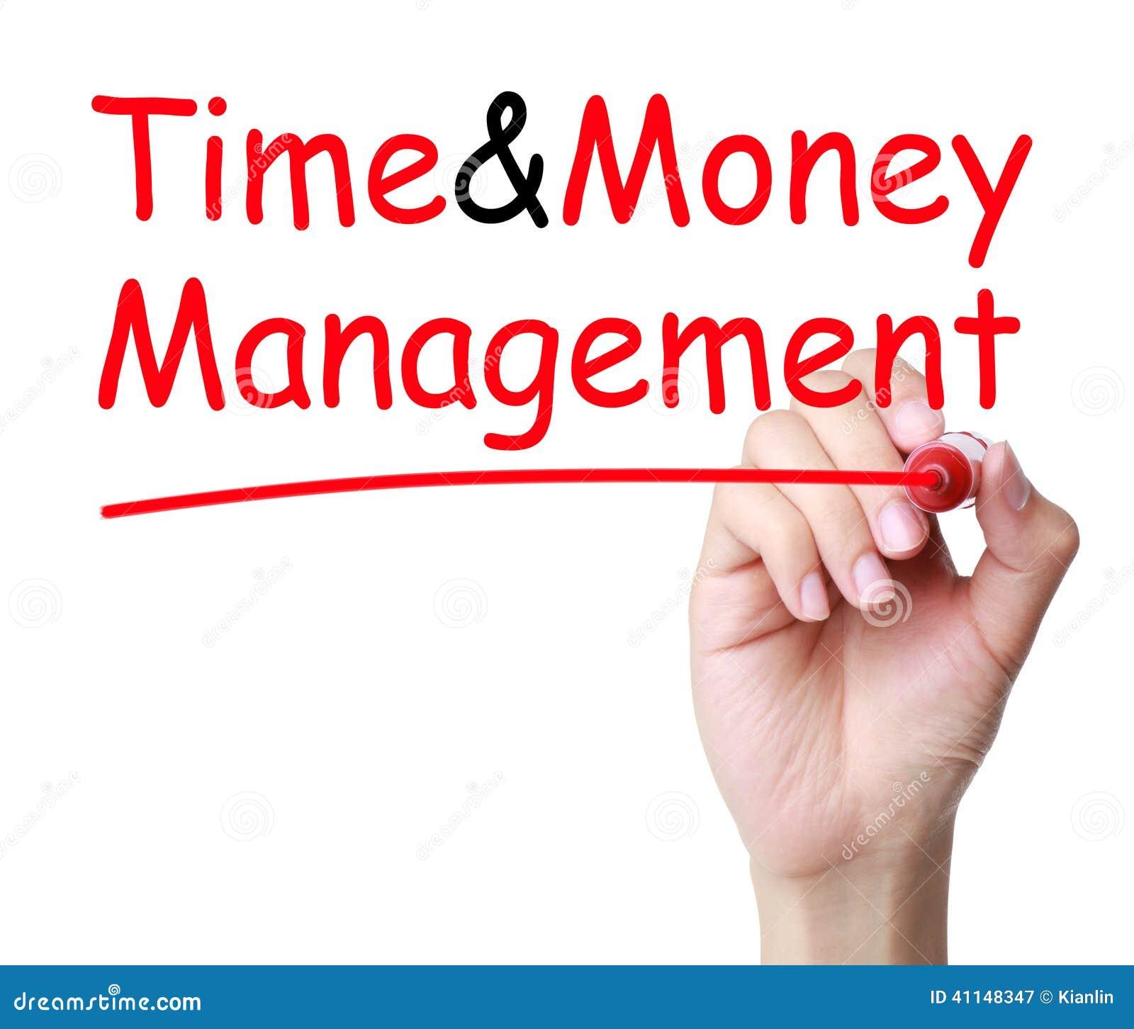 Czas i pieniądze zarządzanie