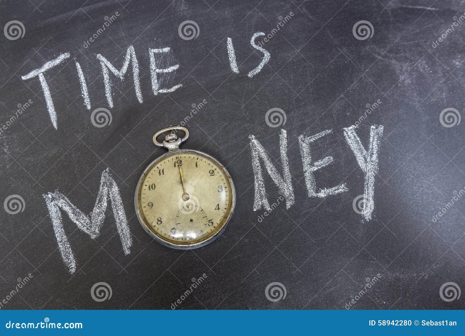 Czas jest pieniądze