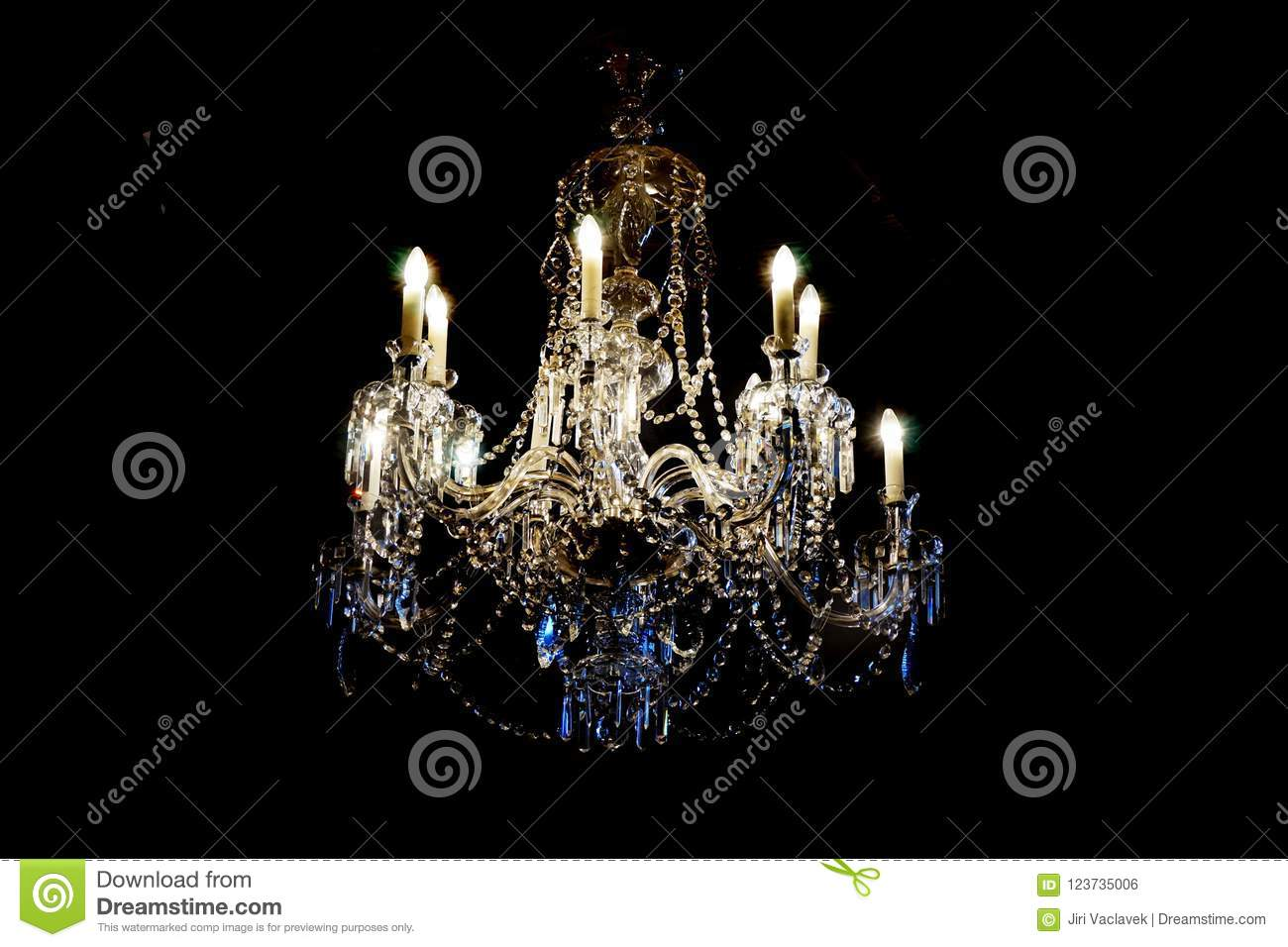 Czech crystal chandelier stock photo image of electricity 123735006 download czech crystal chandelier stock photo image of electricity 123735006 aloadofball Image collections