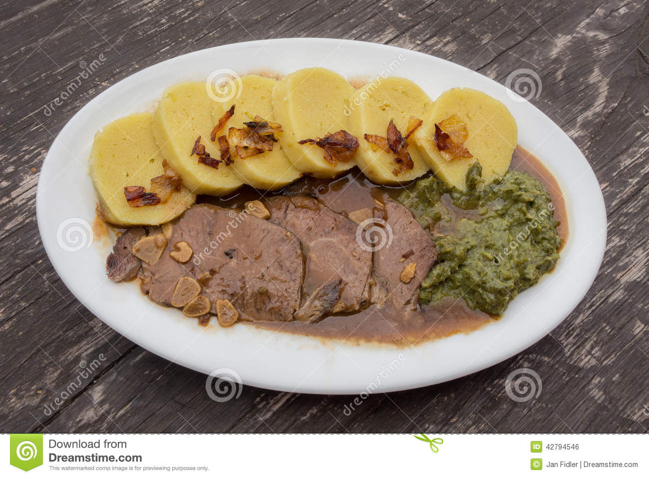 Czech or german food cuisine stock photo image 42794546 for Cuisine allemande