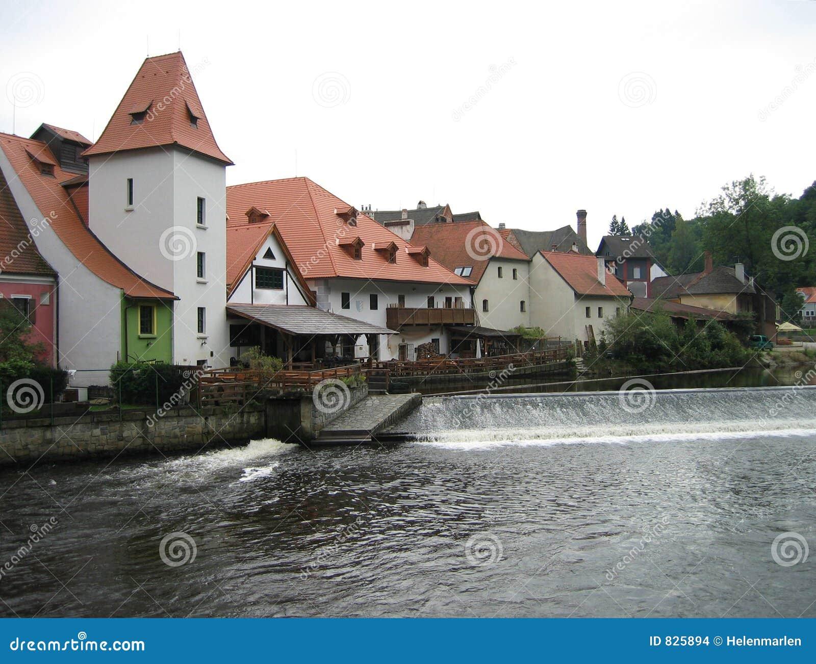 Czech Krumlov Architecture