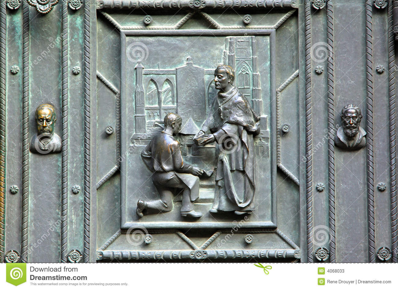 Czech republic prague st vitus stock photos image 4068033 for Door z prague