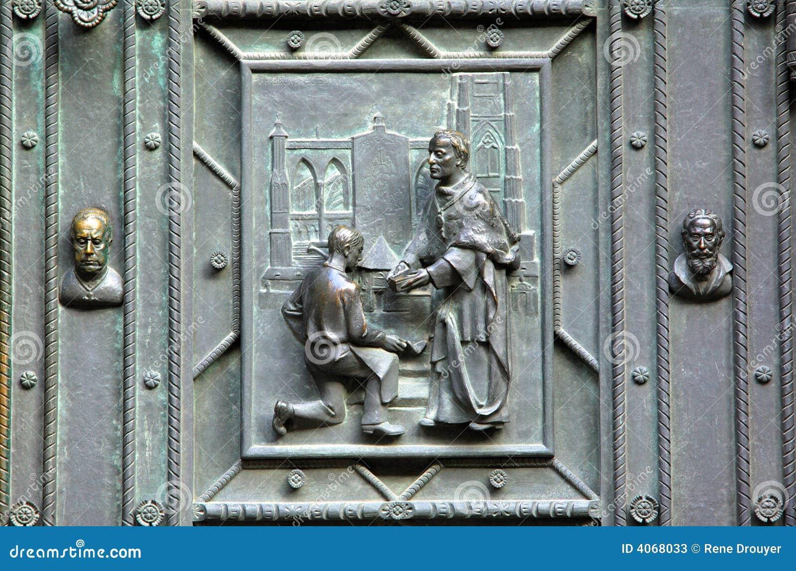 Czech republic prague st vitus stock photos image 4068033 for Door z prague