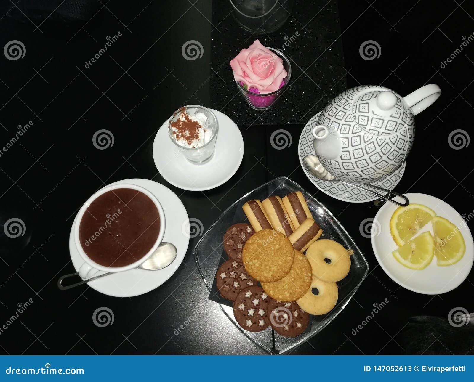 Czekolada i herbata