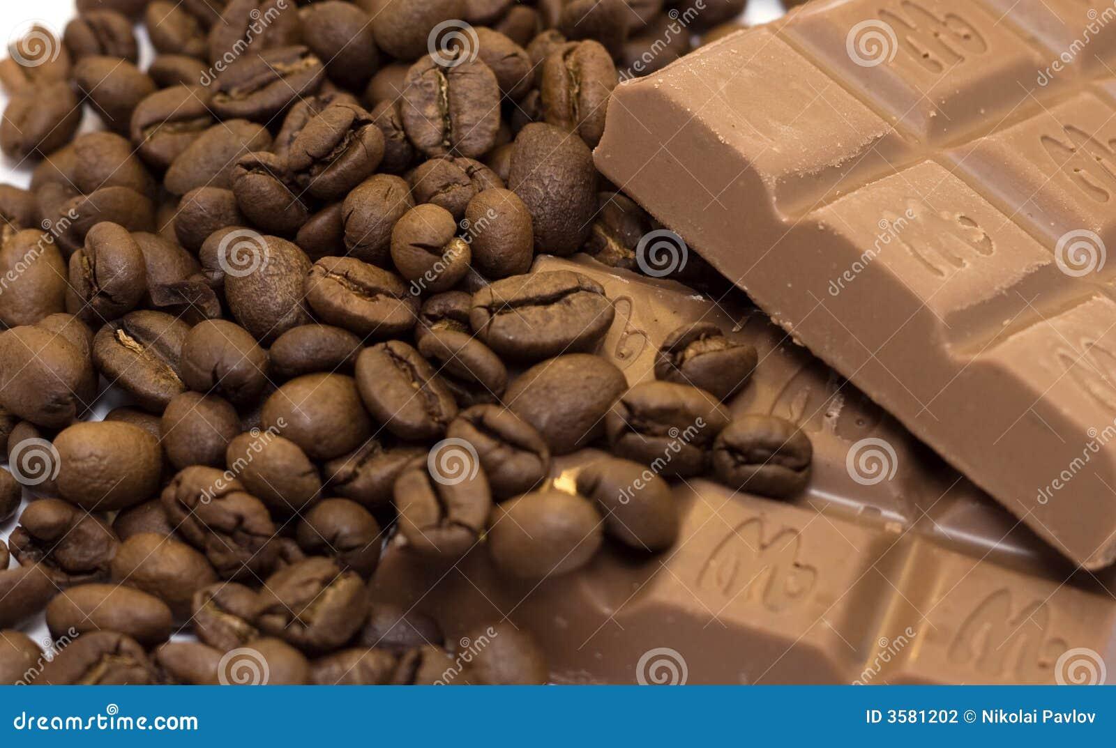 Czekoladki ziaren kawy