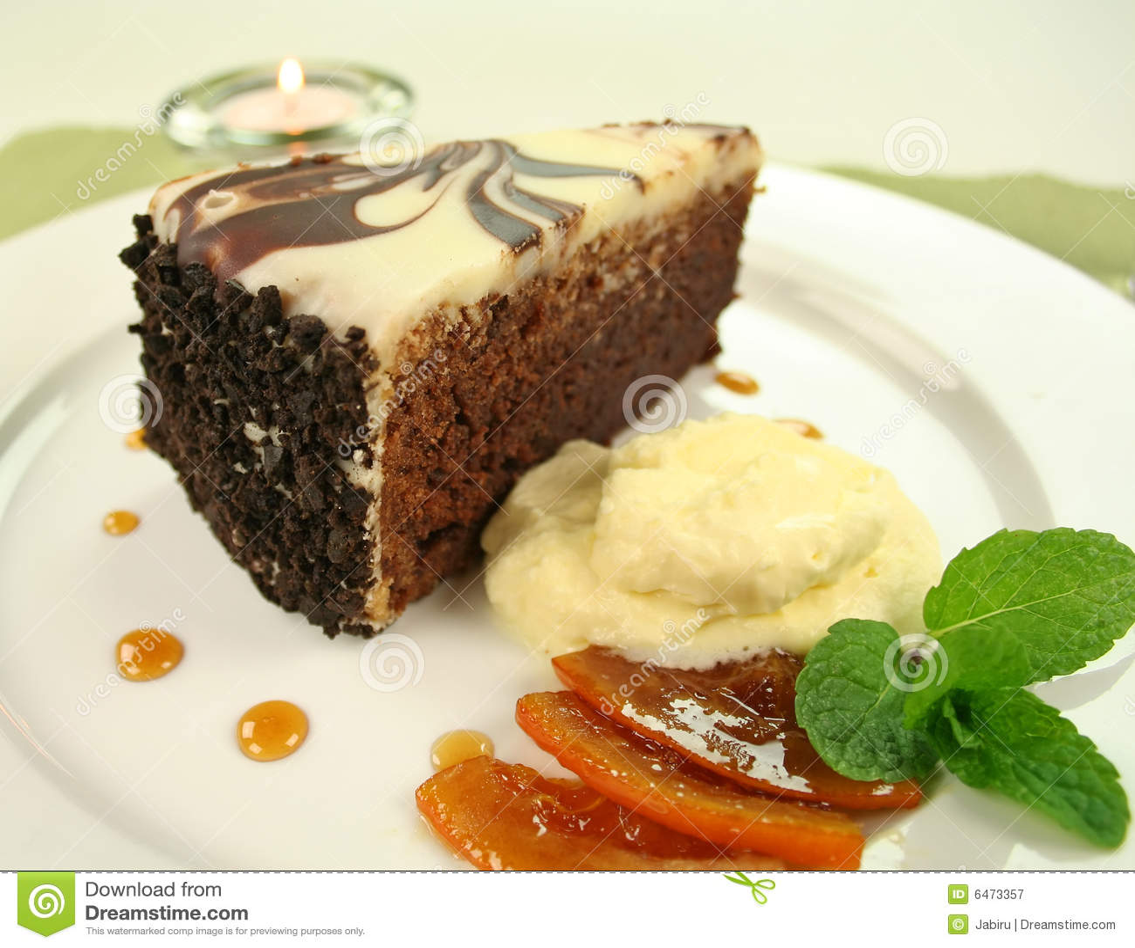 Czekoladowe ciasto bogactwa.