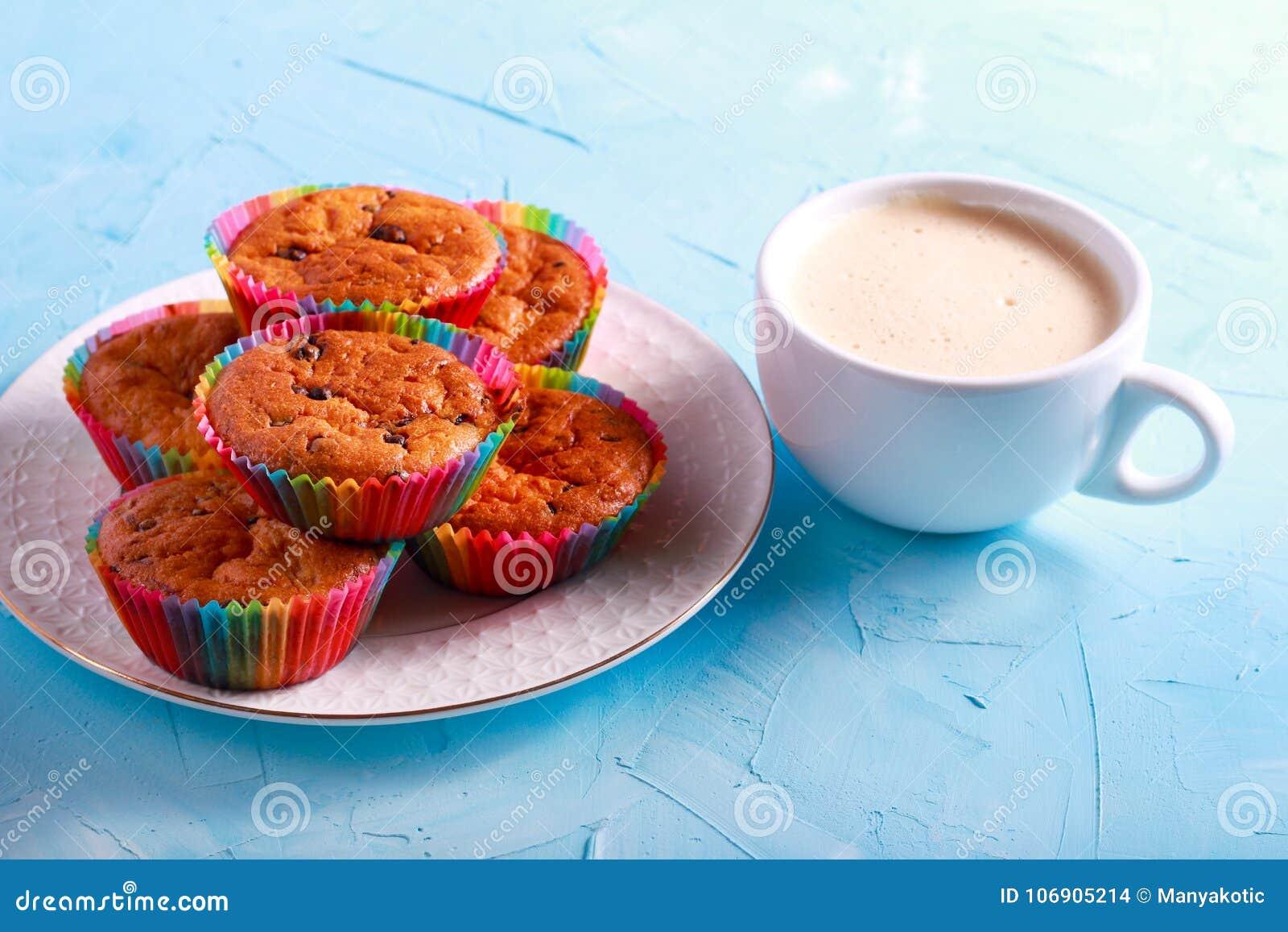Czekoladowego układ scalony Muffins