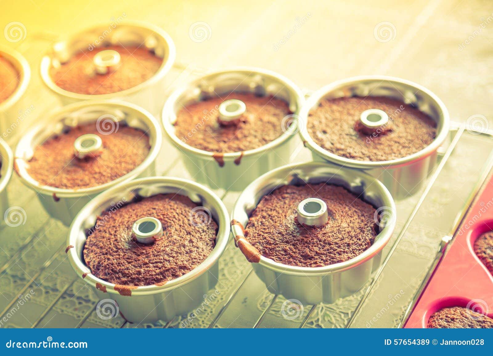 Czekoladowi muffins (Filtrujący wizerunek przetwarzający rocznik ef