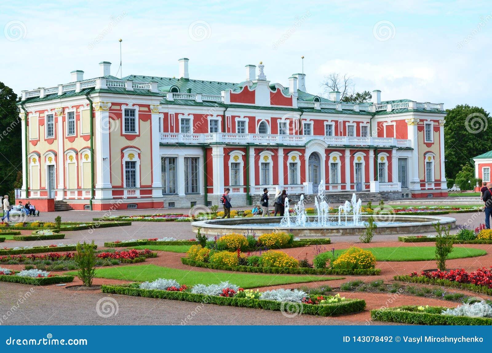 Czerep pałac i parka zespołu Kadriorg pałac