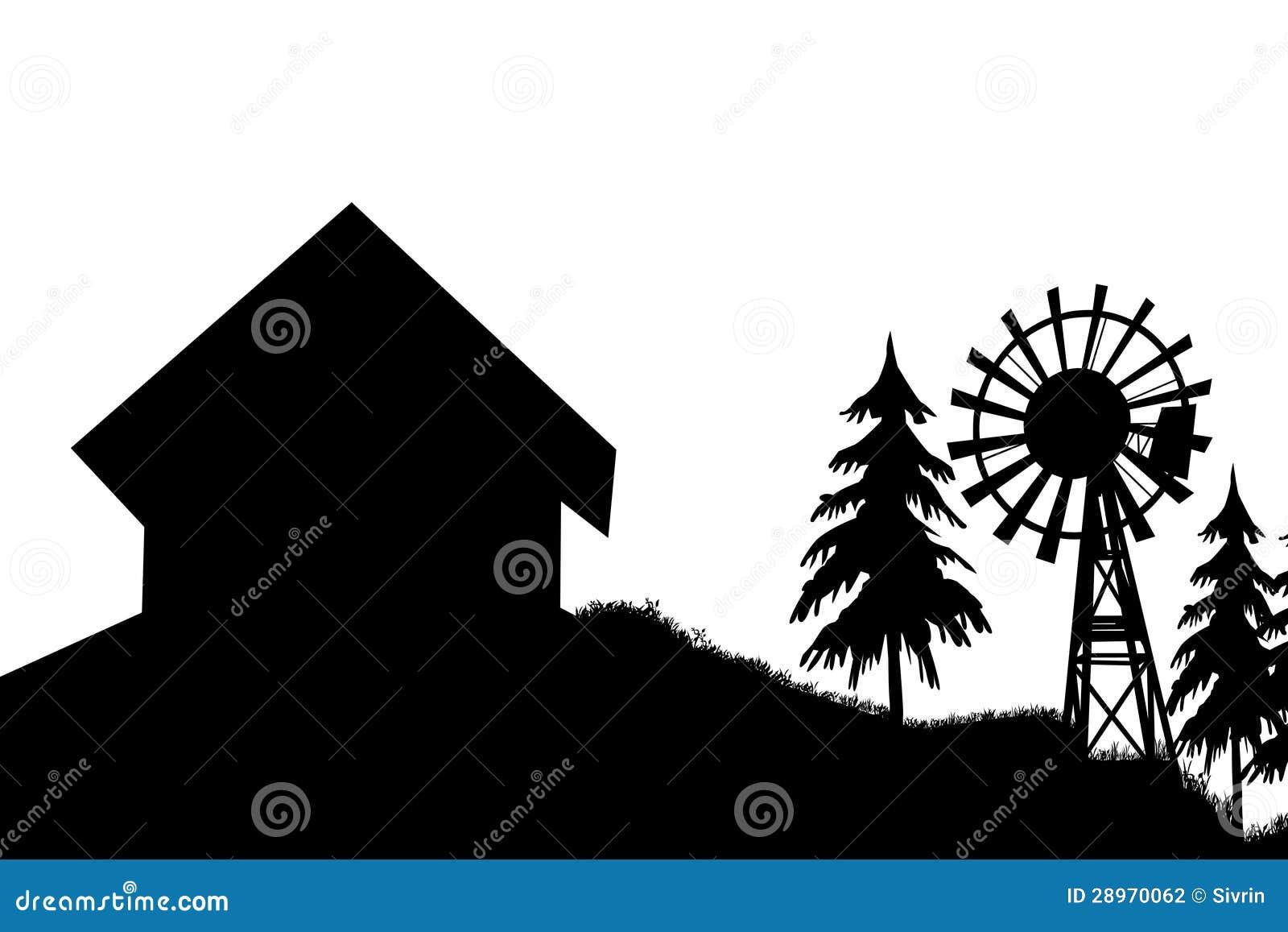 Czerni domowy silnik wiatrowy