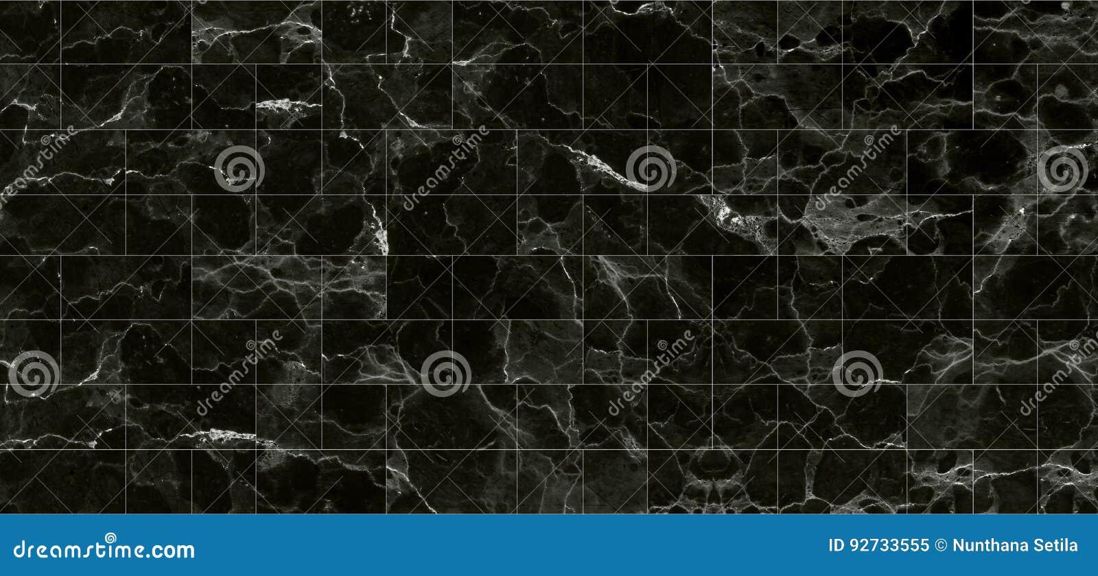 Czerni płytek tekstur marmurowy tło szczegółowa struktura marmur w naturalny wzorzystym dla tła i projekta
