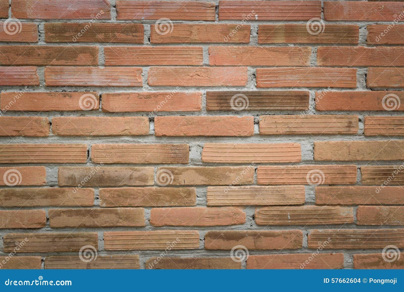 Czerwień ceglasta tekstury ściany