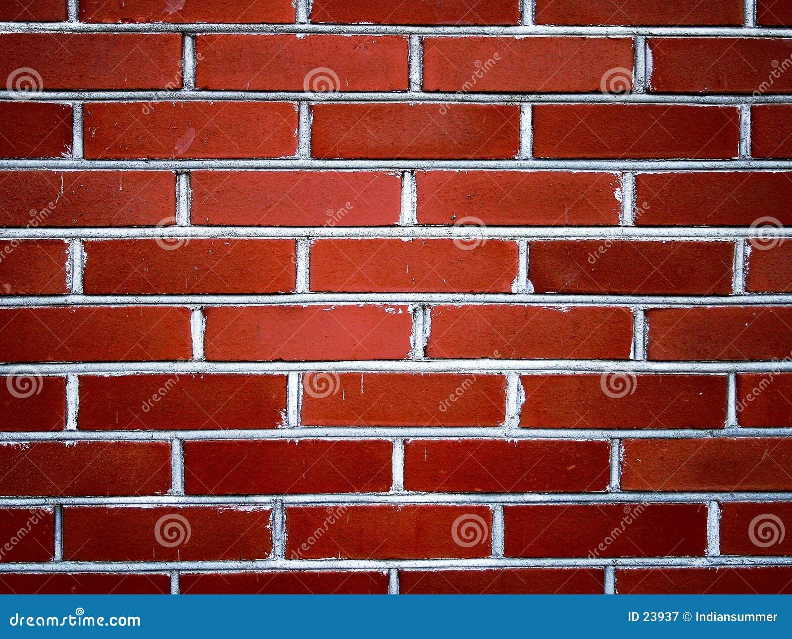 Czerwona ściana cegieł ii