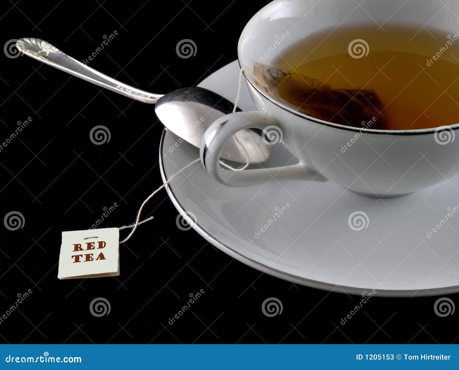Czerwona herbaty.