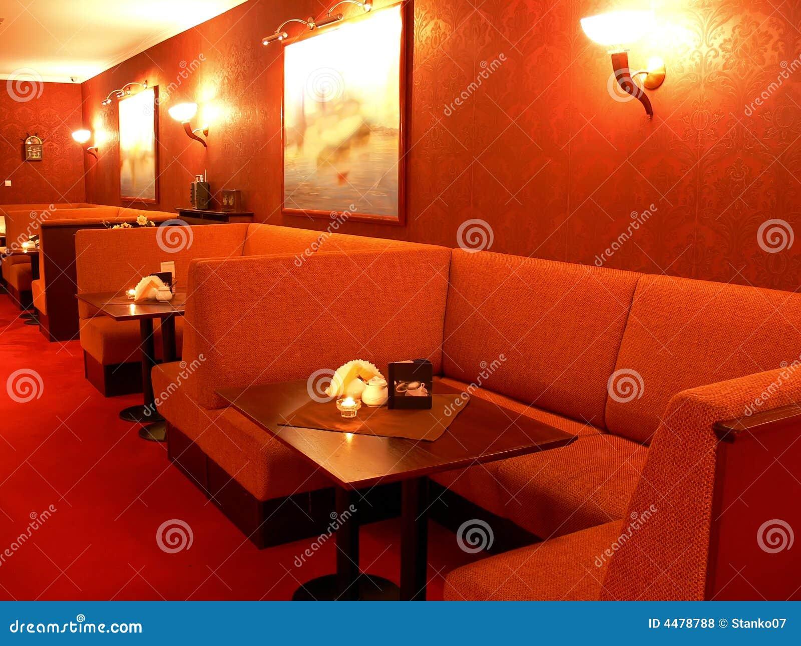 Czerwona restauracji