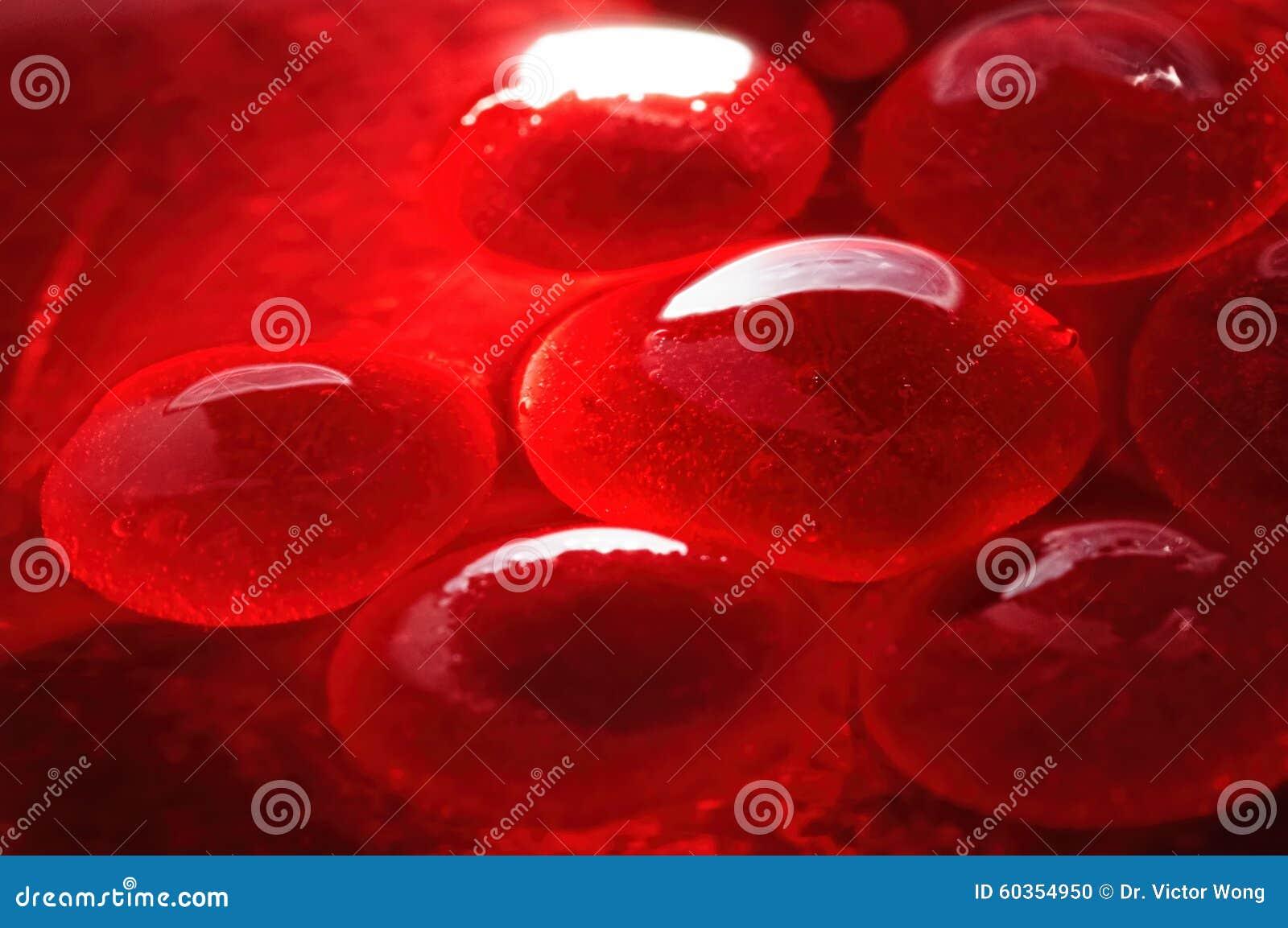 Czerwone galaretowate globula