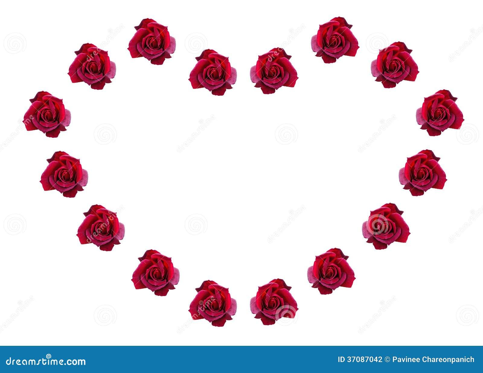 Download Czerwone Róże W Kształcie Serce. Zdjęcie Stock - Obraz złożonej z zbliżenie, kardamon: 37087042