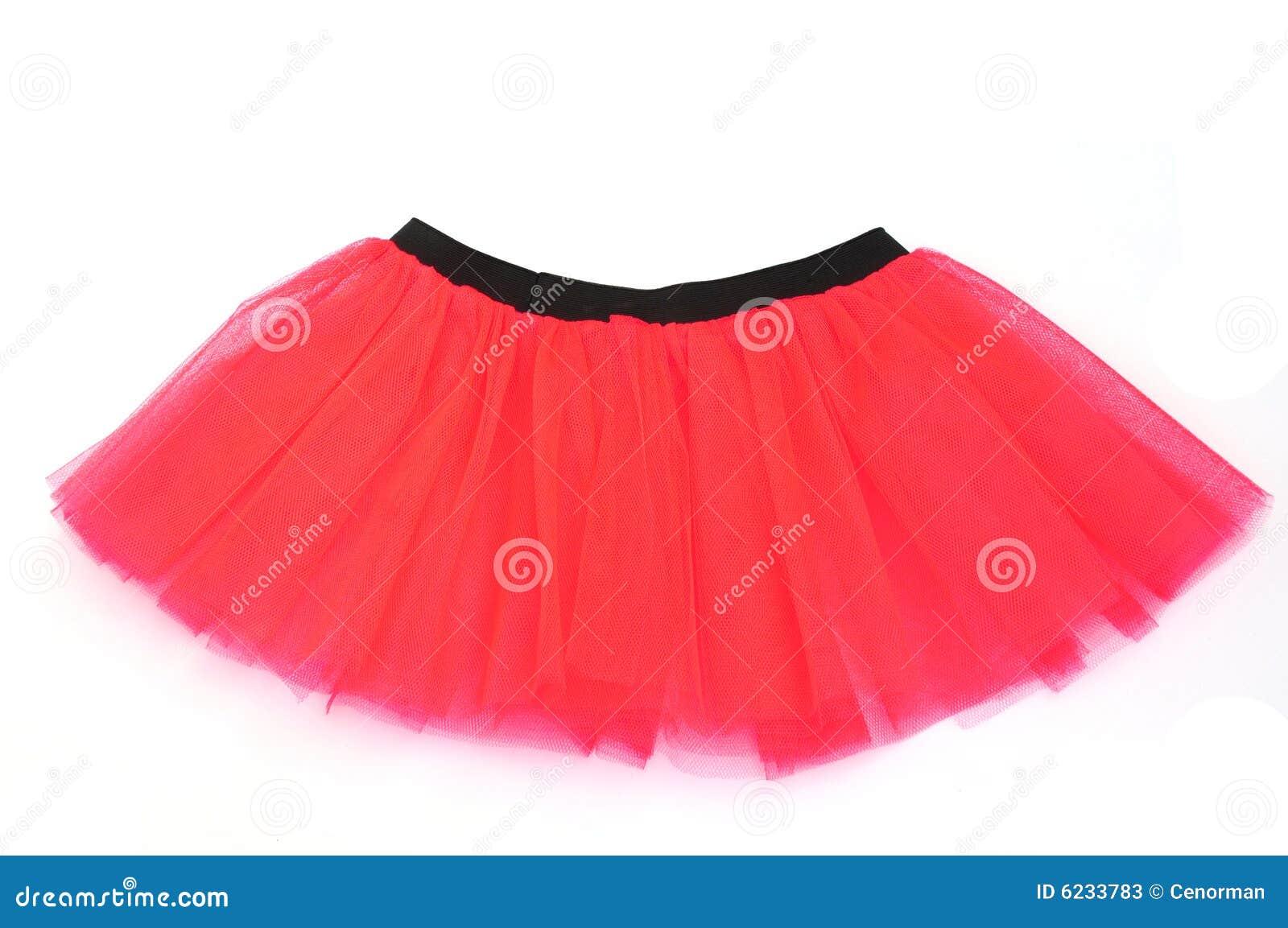 9df01cc7 Czerwone Spódnicowa Spódniczka Baletnicy Obraz Stock - Obraz ...