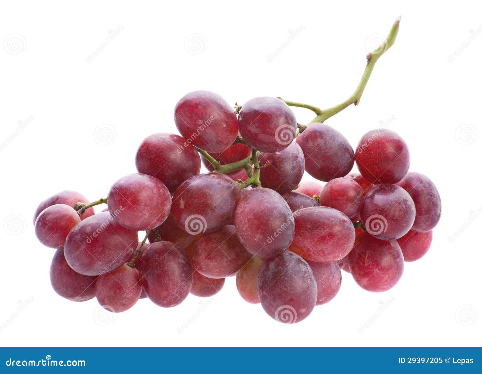 Czerwonego winogrona wiązka