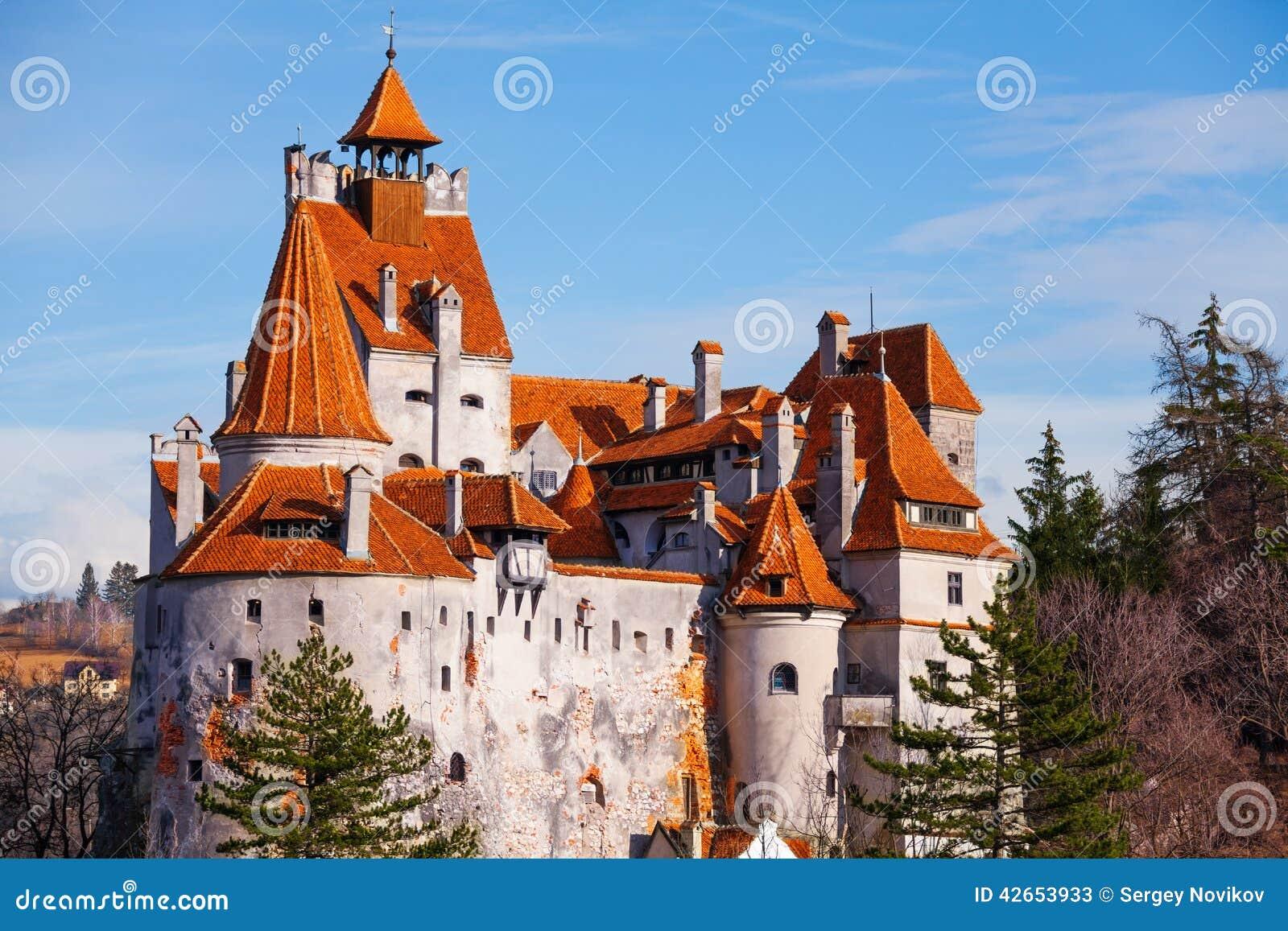 Czerwoni dachy otręby kasztel (Dracula kasztel)