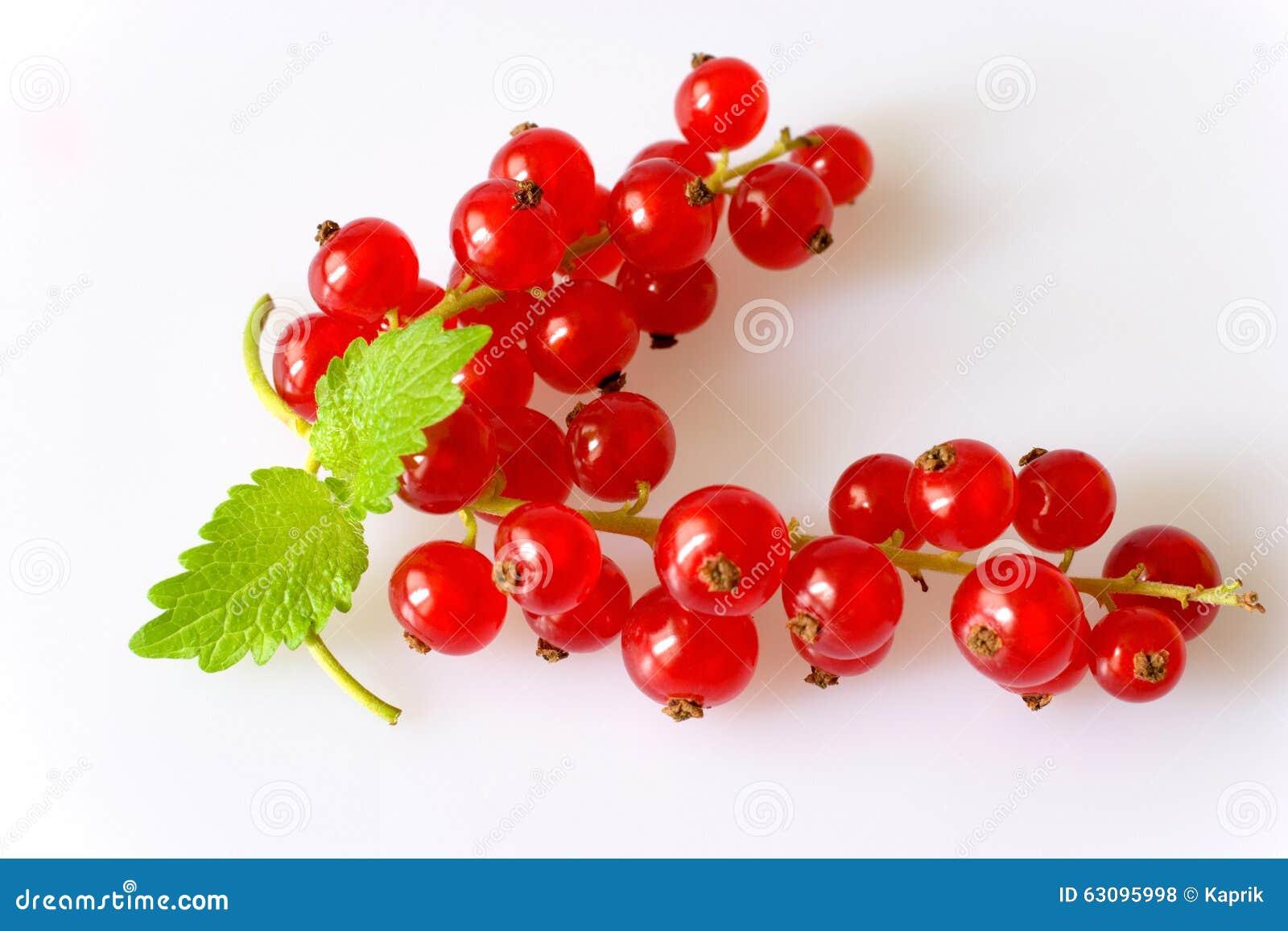 Czerwoni jagoda rodzynki