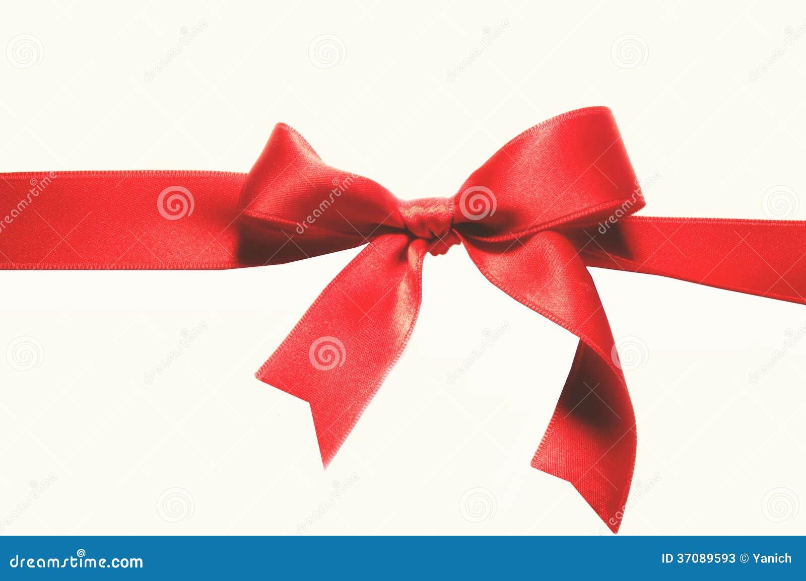 Download Czerwony łęk obraz stock. Obraz złożonej z dekoruje, dekoracje - 37089593