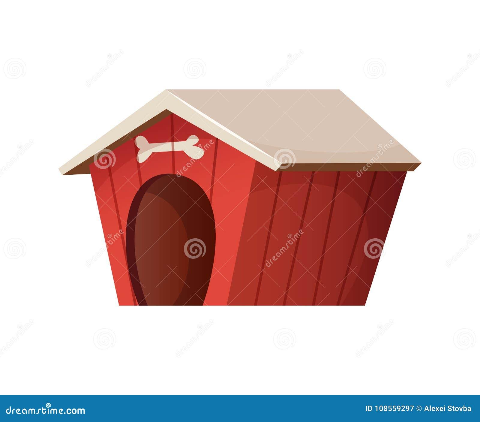 Czerwony śliczny psi dom kreskówka kucharz folował śmieszny jego ilustracyjnych kuchennych niecki kołysania się stylu warzywa mło